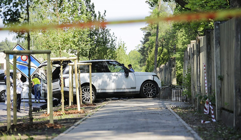 Crime scene Aizsaules iela 1