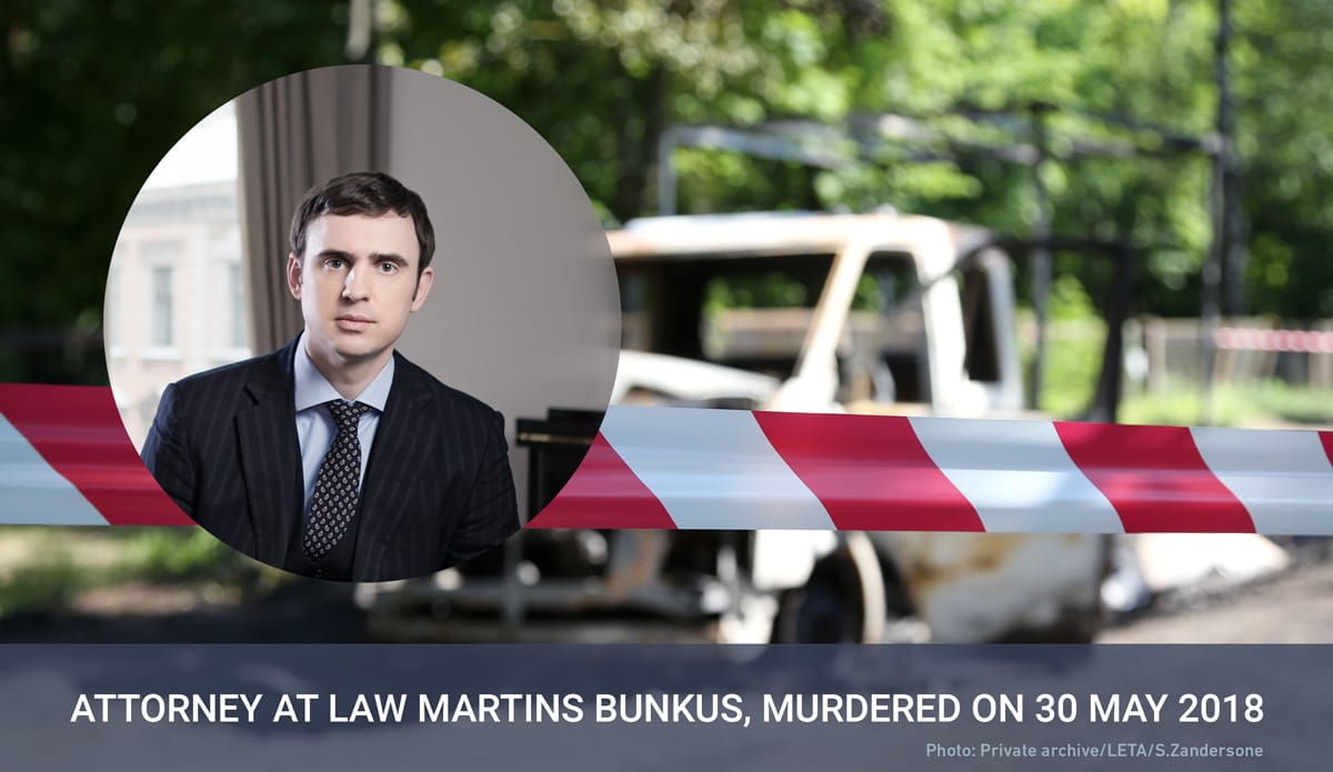 Who killed attorney at law Martins Bunkus?